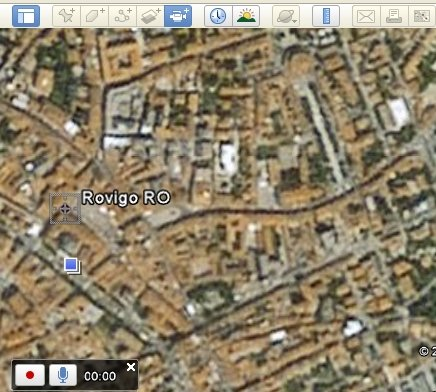 Registrazione (audio e video) in Google Earth