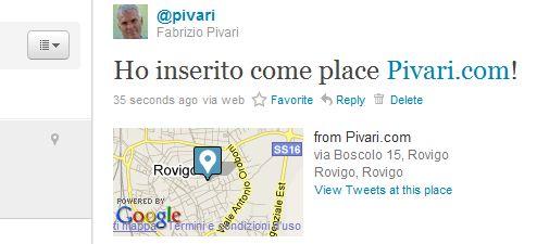 pivari.com nel nuovo twitter