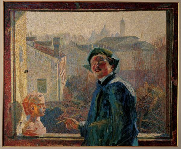 Umberto Boccioni - Ritratto di scultore