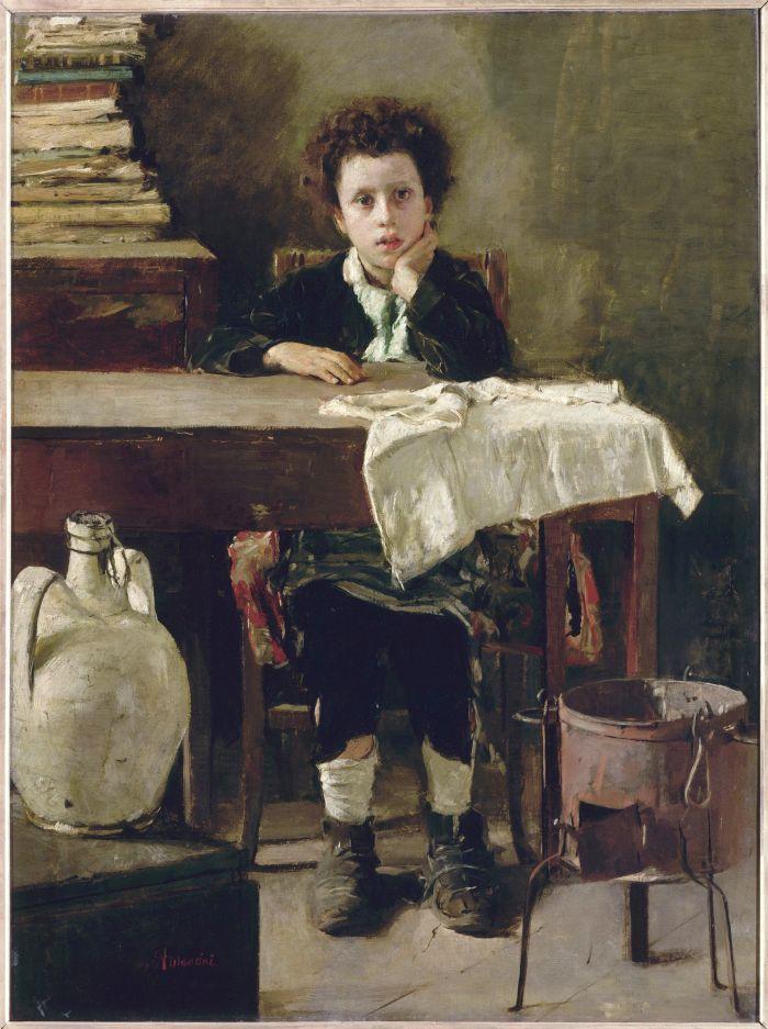 Antonio Mancini - Il piccolo scolaro