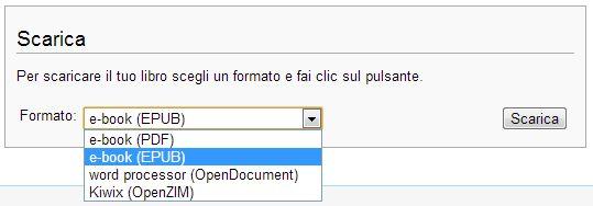 wikipedia - formati e-book