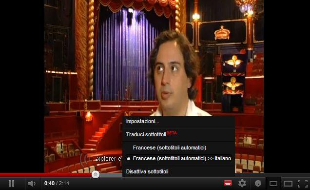 youtube: creazione e traduzione sottotitoli istantanea