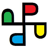 Pivari pinwheel logo