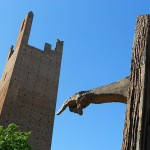 monumento a Matteotti sorregge la torre, Rovigo