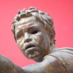 primo piano del fantino - Museo Archeologico Nazionale di Atene