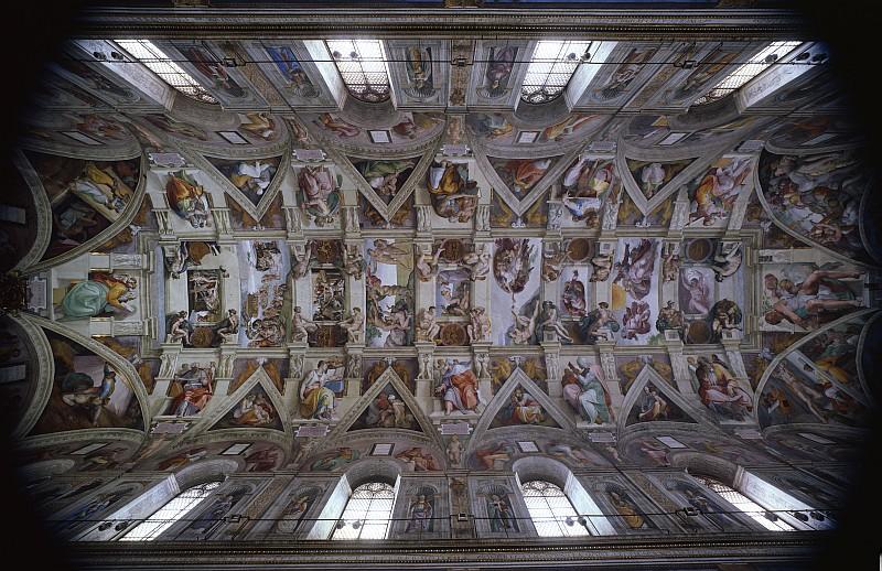 La cappella sistina illuminata da lampade a led osram for Decorazione quattrocentesca della cappella sistina