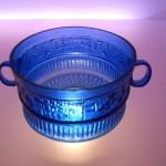 coppa firmata Ennione, la teca dei vetri, museo archeologico nazionale, Adria