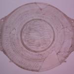 piatto luce chiara, la teca dei vetri, museo archeologico nazionale, Adria