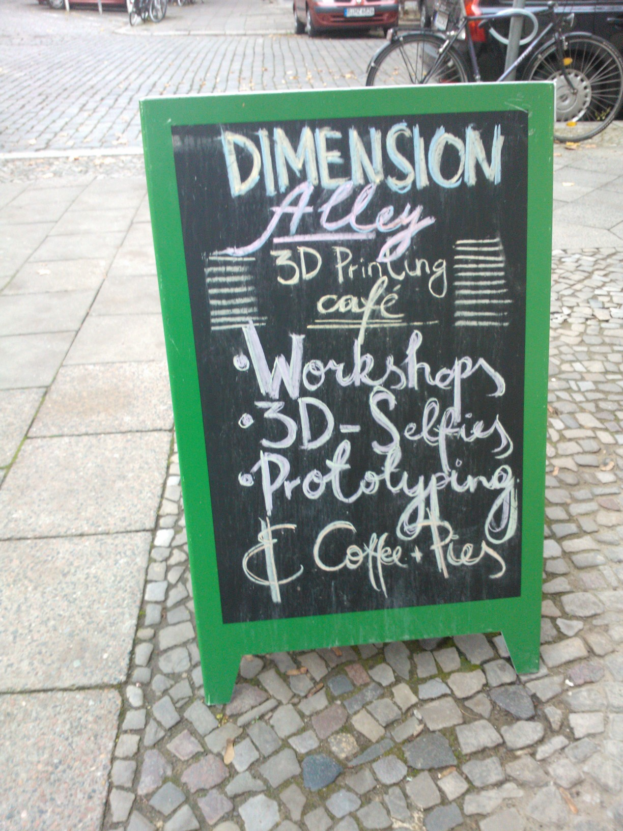 Dimension Alley, caffè 3D, Berlino
