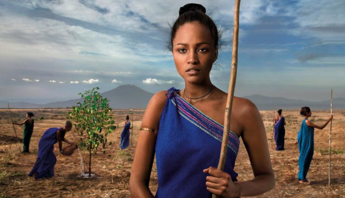 The Earth Defenders, calendario Lavazza 2015, Our Roots, fotografia di Steve McCurry