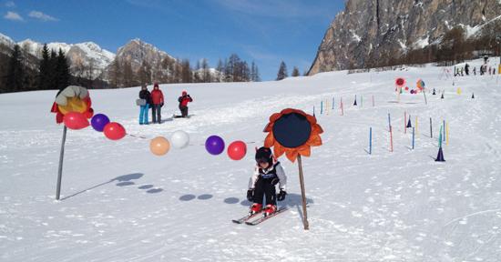 lezione Happy Ski Cortina