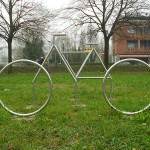 monumento bicicletta, 5 pezzi, Rovigo