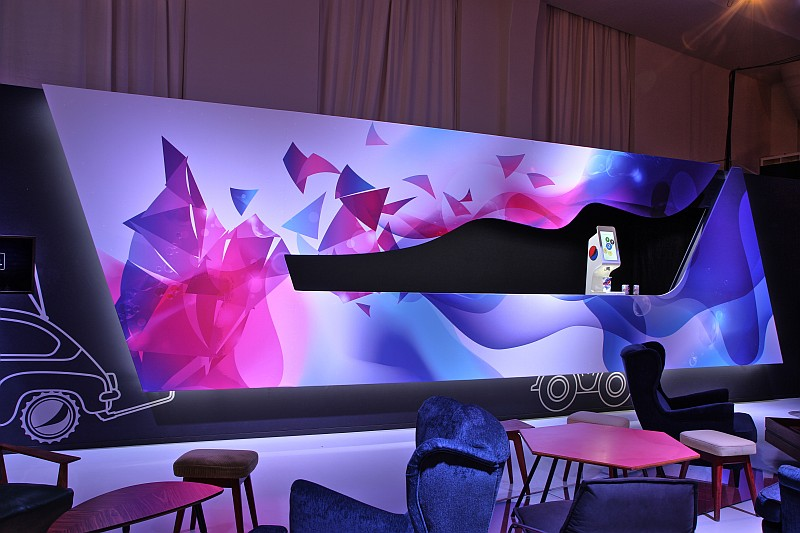 Pepsi Spire Food Truck, designed by Karim Rashid