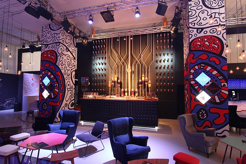 The Kola Bar & Lounge, designed by Kravitz Design