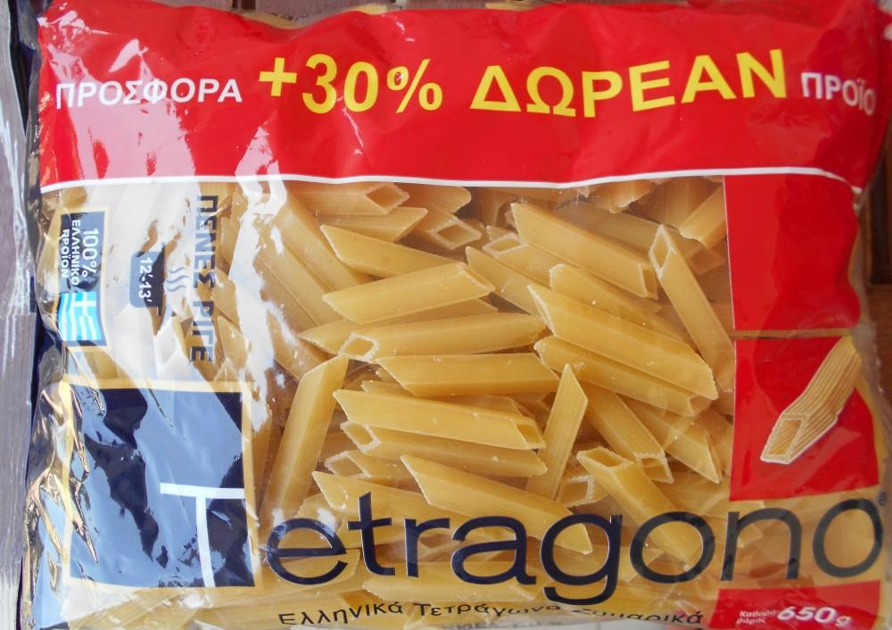 Tetragono: innovazione greca nella pasta