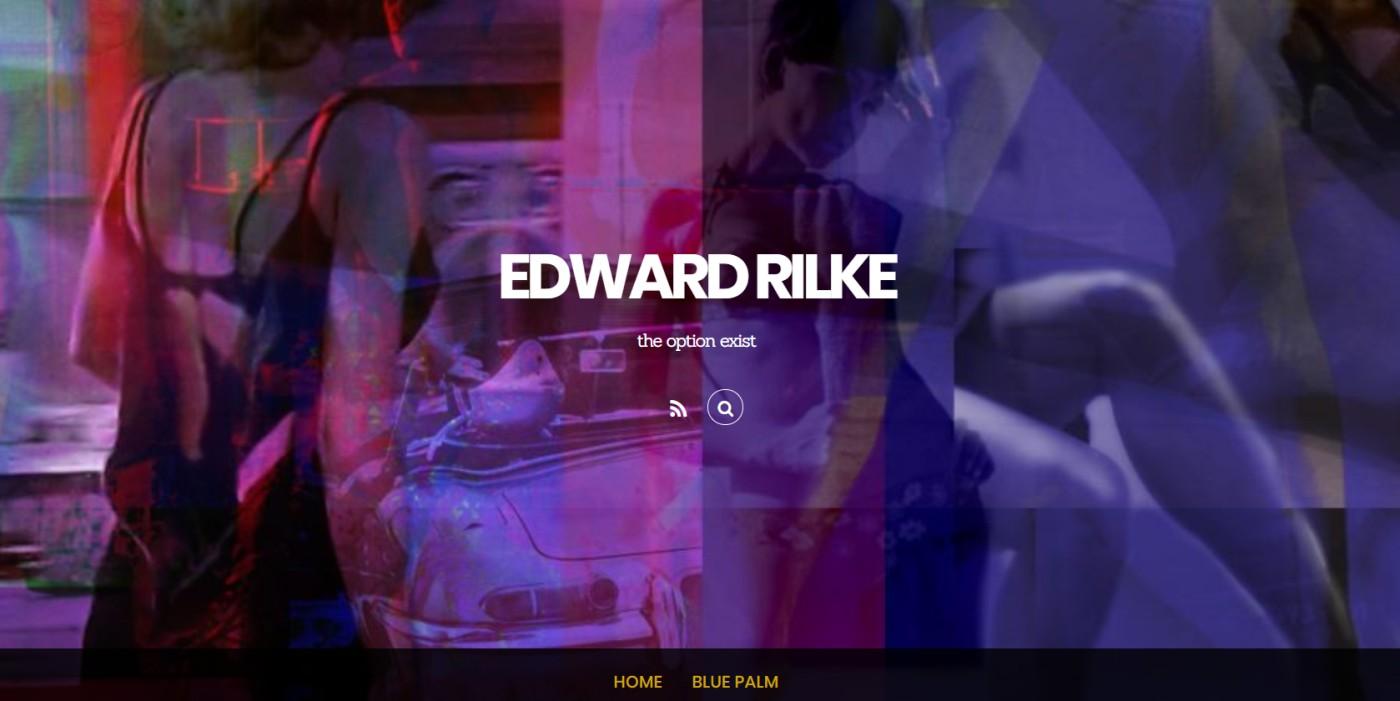 Sito dell'artista Edward Rilke realizzato con WordPress e Themify