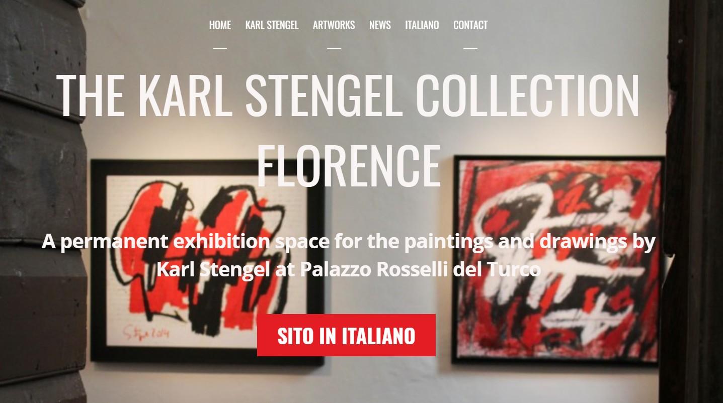 Sito della collezione Karl Stengel di Firenze (WordPress e Themify)