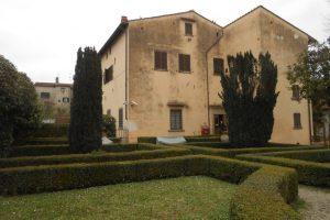 giardino pensile, casa Vasari, Arezzo