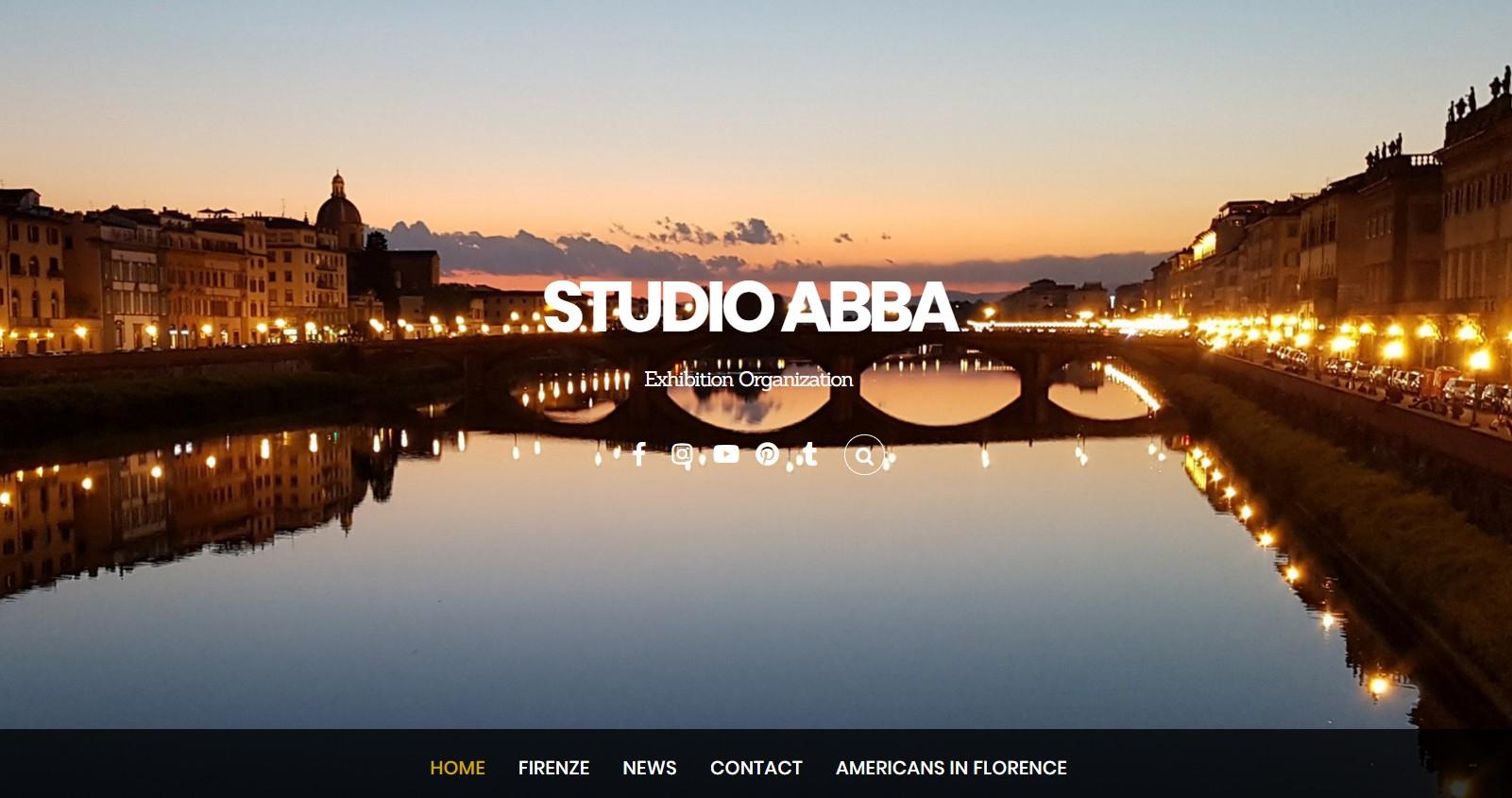 Sito dello Studio Abba realizzato con WordPress e Themify