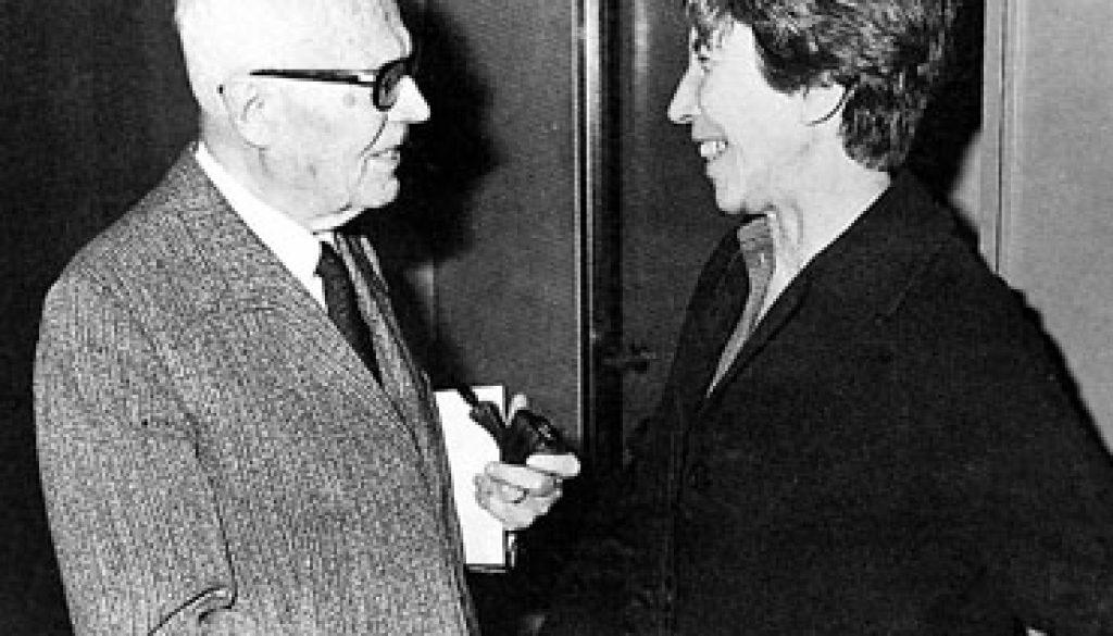 Sandro Pertini e Natalia Ginzburg, Wikipedia