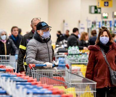 supermercato mascherine