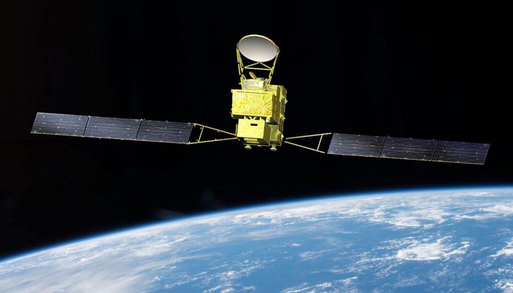 Satellite GOSAT-GW rendering