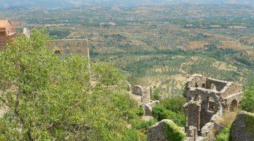 rovine Mistrà Grecia