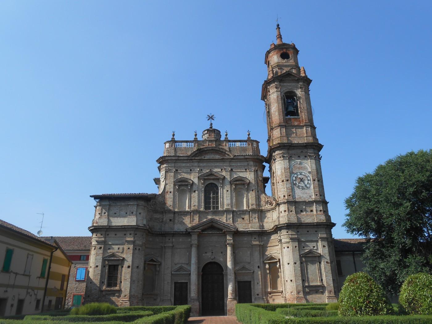 chiesa di Sant'Antonio Abate, Villa Pasquali, Sabbioneta, Antonio Galli da Bibbiena