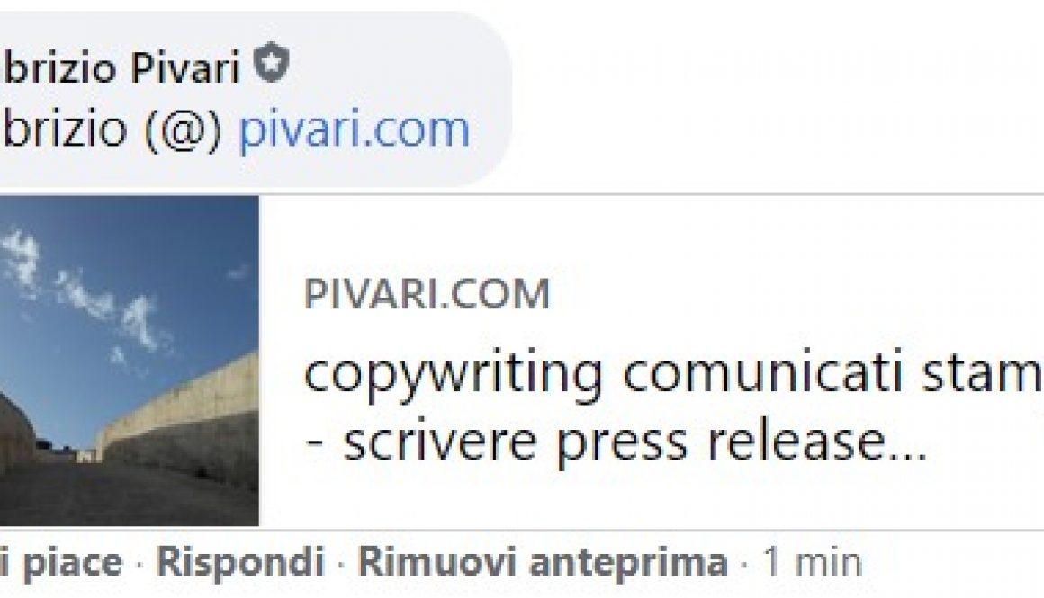 email pivari.com facebook