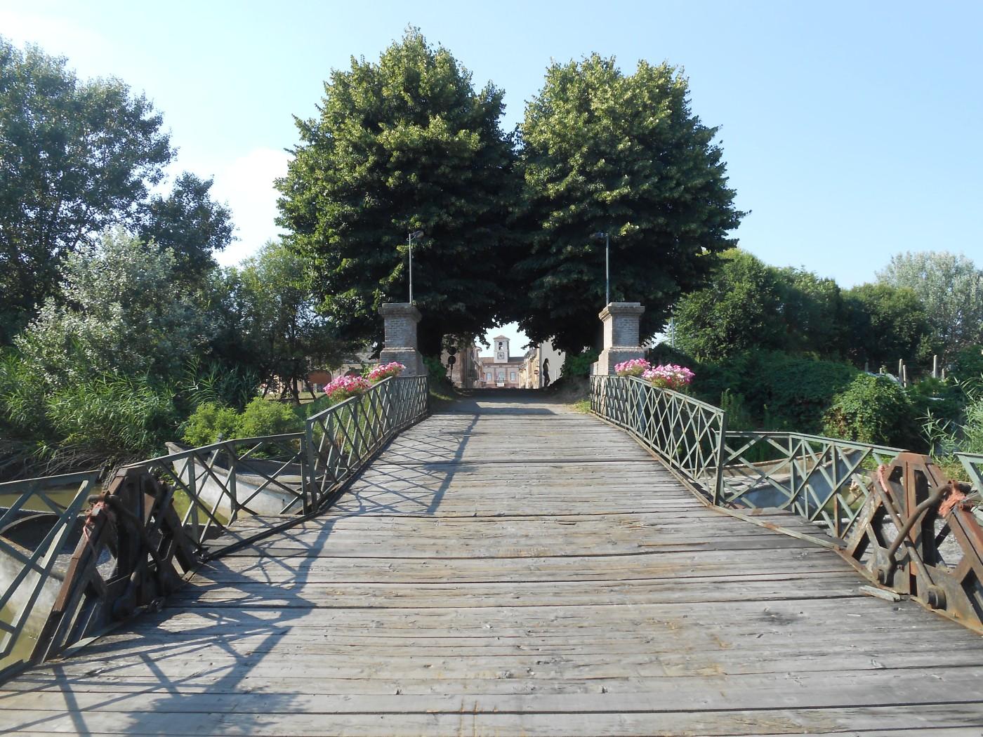 ponte di barche, Commessaggio, Mantova
