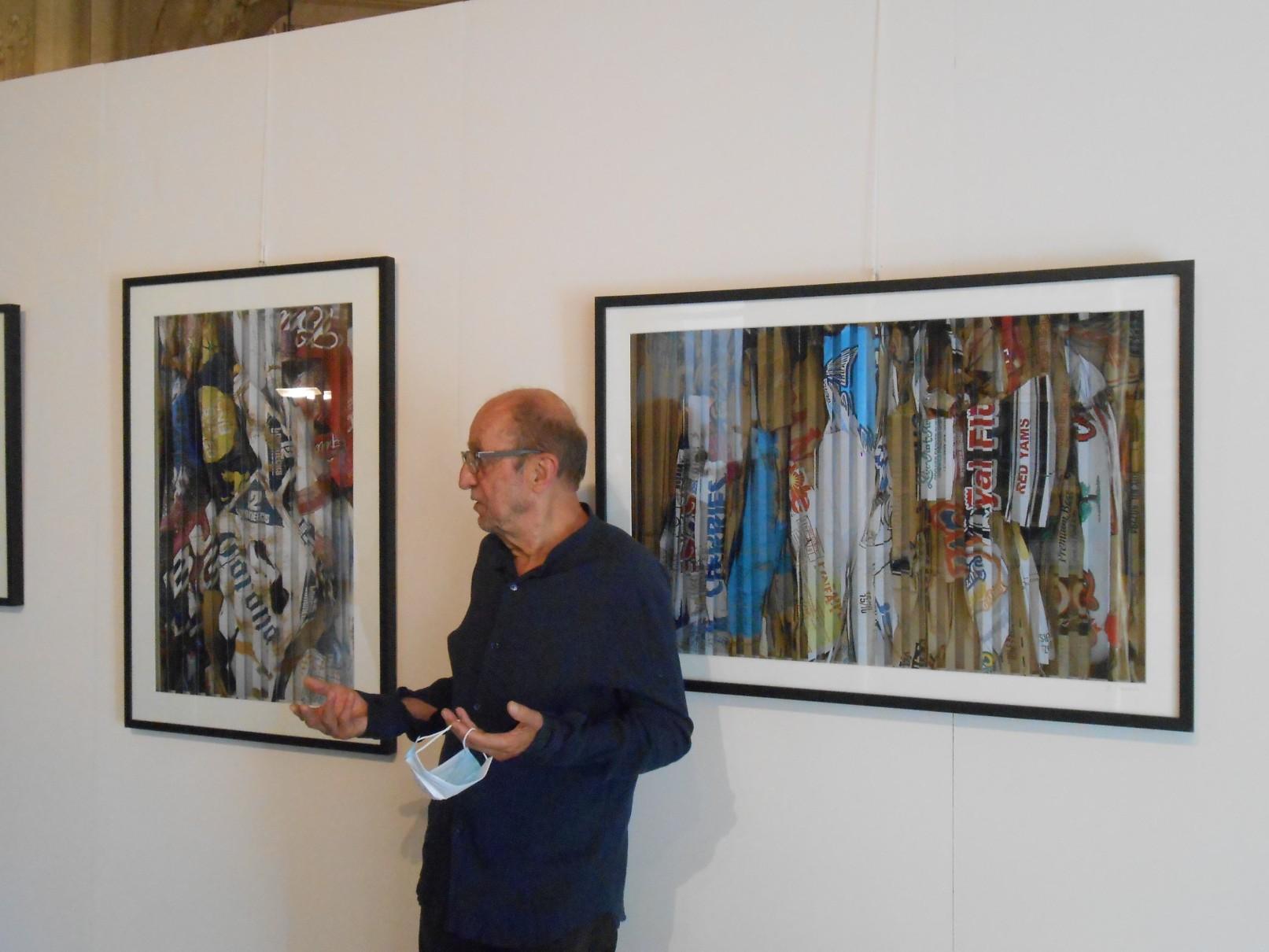 Jacques Renoir: chiacchierata a Firenze attorniato dalle sue opere