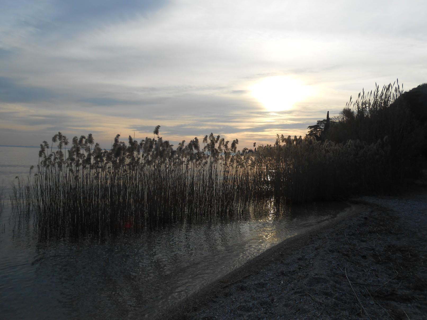 lago di Garda, tramonto
