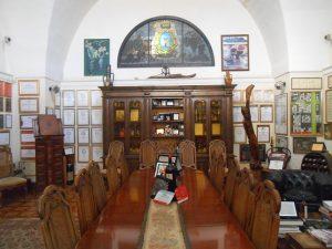 cantina Leone de Castris, sala di rappresentanza, Salice Salentino