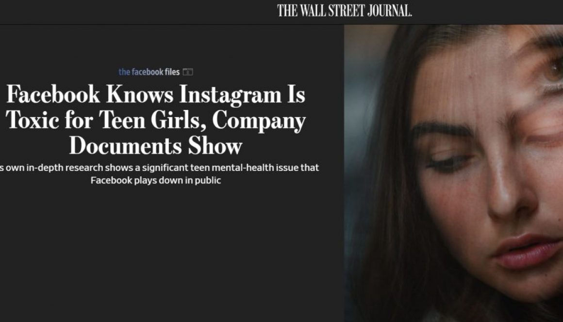 Facebook Knows Instagram Is Toxic for Teen Girls, Company Documents Show